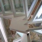 Ballatoio e scala in acciaio e vetro strutturale [3]