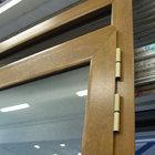 Porta alluminio effetto legno di servizio apertura esterna [05]