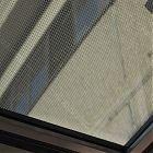 Vetro calpestabile pixel chiaro - vista dal basso