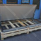 Botola Floor Trap acciaio inox manuale da pavimentare (misura luce foro 85x215) [2]