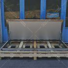 Botola Floor Trap acciaio inox manuale da pavimentare (misura luce foro 85x215) [1]