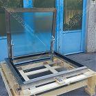 Botola Floor Trap acciaio inox manuale (misura luce foro 100x100) [3]