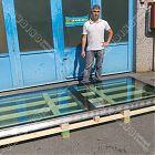 Lucernario fisso Floor Panorama TT acciaio inox (misura luce foro 105x255) [6]