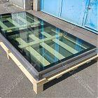 Lucernario fisso Floor Panorama TT acciaio inox (misura luce foro 105x255) [3]
