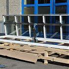 Lucernario Roof Window HP J con parte fissa (misura luce foro 103x642) [7]