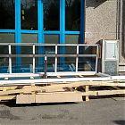 Lucernario Roof Window HP J con parte fissa (misura luce foro 103x642) [9]