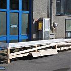 Lucernario Roof Window HP J con parte fissa (misura luce foro 103x642) [3]