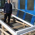 Lucernario Roof Window HP S su falda inclinata (misura luce foro 120x300) [10]