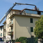Rifacimento del tetto di una veranda
