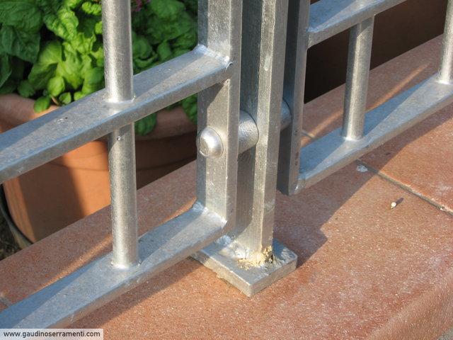 Ringhiera in acciaio zincato [2]