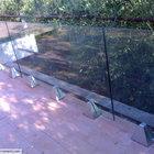 Parapetto in vetro strutturale con supporti in acciaio inox [4]