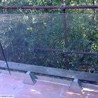 Parapetto in vetro strutturale con supporti in acciaio inox [3]