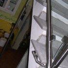 Parapetto in acciaio inox e vetro [2]