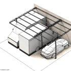 Strutture per tettoia di copertura auto, componibili [1]