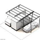 Strutture per tettoia di copertura auto, componibili [3]