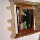Finestra con anta ribalta alluminio-legno [2]