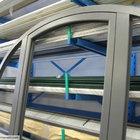 Porta centinata con parte fissa in alluminio [2]