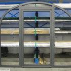 Porta centinata con parte fissa in alluminio [3]