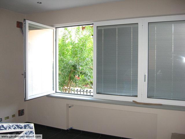 Porte e finestre porte e finestre gaudino for Finestre pvc con tapparelle