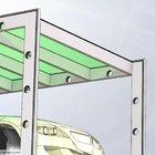 Pensilina Linea in alluminio e vetro [2]